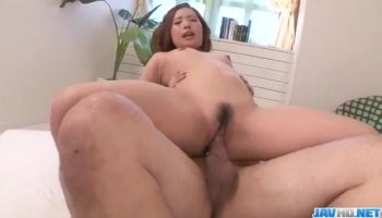 Yummy lesbians have a steamy pussy licking session in bedroom